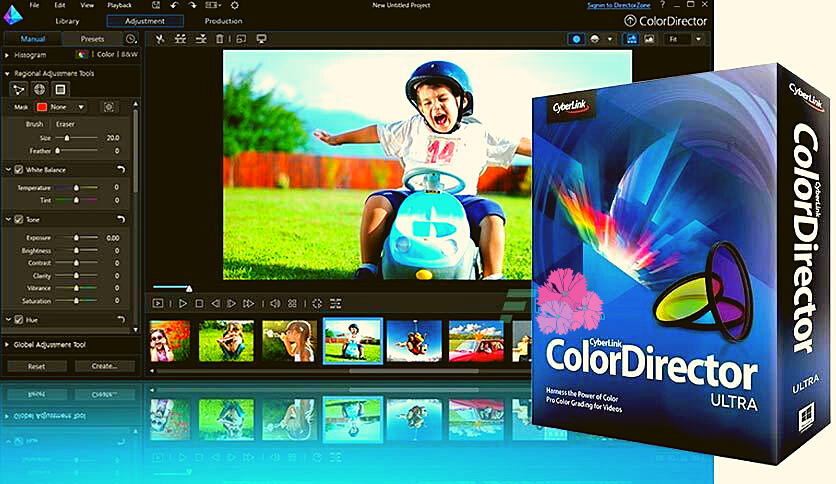 CyberLink ColorDirector Ultra 2020 Free Download