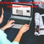What are Software Engineering Internships & Software Developer Internship