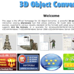 3D Object Converter Free Download